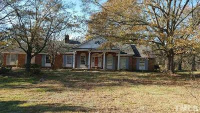 Sampson County Single Family Home For Sale: 2921 Faison Highway