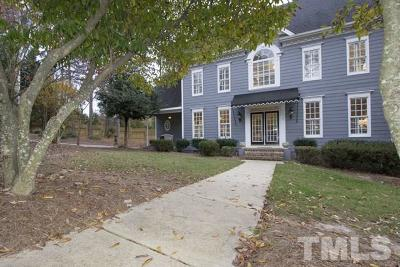 Raleigh Single Family Home For Sale: 3710 Old Lassiter Mill Road