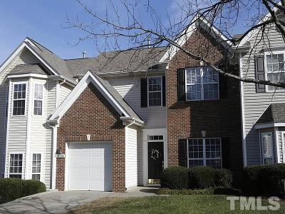 Raleigh Townhouse For Sale: 10724 Pendragon Place