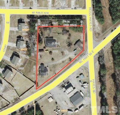 Granville County Commercial Lots & Land For Sale: 2617 Nc 56 Highway