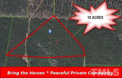 Johnston County Residential Lots & Land For Sale: 169 Arabian Drive