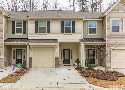 Wake Forest Townhouse For Sale: 1402 Chatuga Way