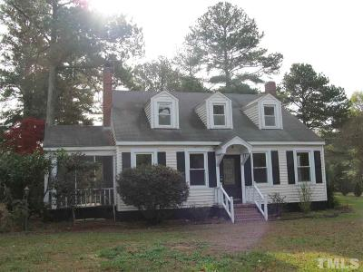 Rolesville Single Family Home For Sale: 207 S Main Street