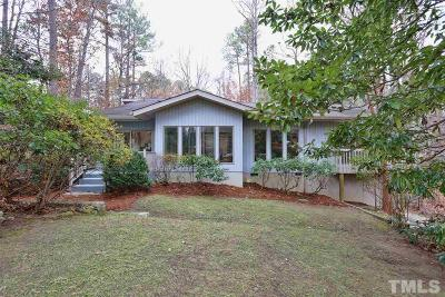 Chapel Hill Single Family Home For Sale: 106 Mendel Drive
