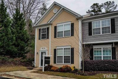 Raleigh Townhouse Contingent: 8312 Clasara Circle