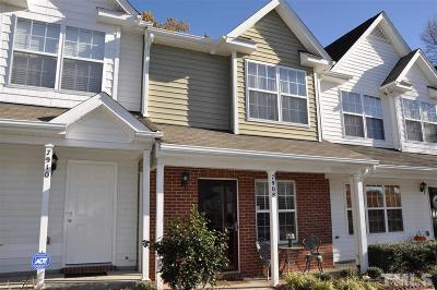 Raleigh Townhouse Contingent: 7908 Averette Field Drive