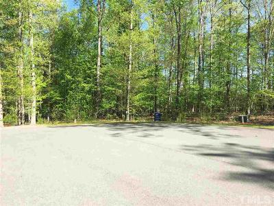 Chatham County Residential Lots & Land For Sale: 184 Mystic Lane