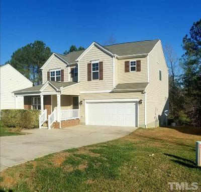 Clayton NC Single Family Home For Sale: $225,000