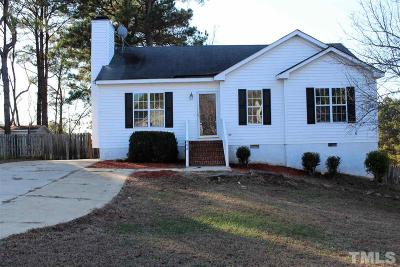 Knightdale Single Family Home Contingent: 906 Danley Lane