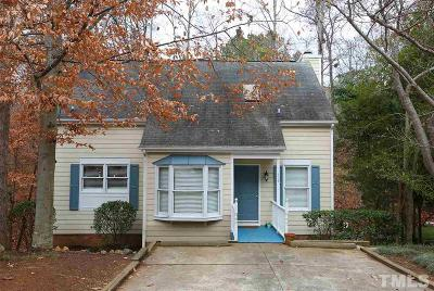 Carrboro Single Family Home Contingent: 110 Lorilane Drive