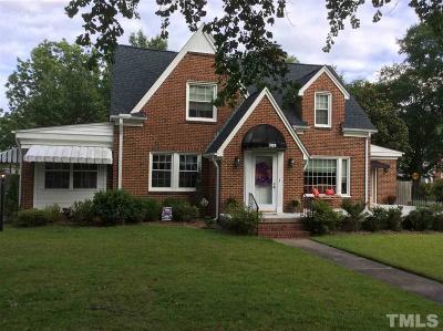 Dunn Single Family Home For Sale: 309 S Fayetteville Avenue