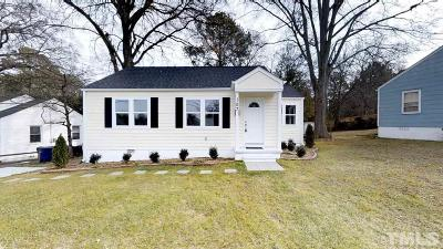 Raleigh Single Family Home For Sale: 107 Plainview Avenue