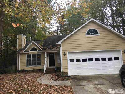 Raleigh Single Family Home For Sale: 3532 Singleleaf Lane