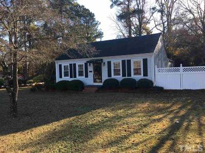 Harnett County Single Family Home For Sale: 1201 W Divine Street