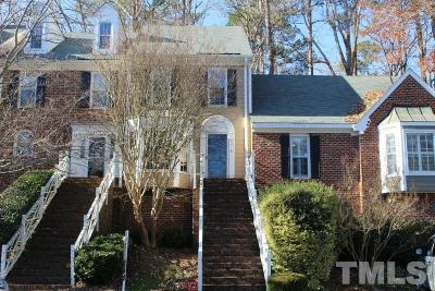 Raleigh NC Townhouse For Sale: $160,000