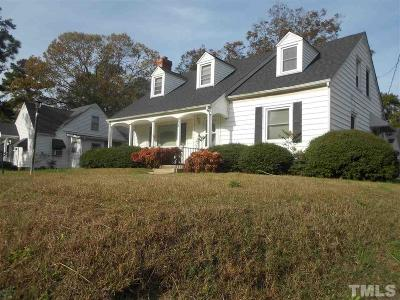 Single Family Home For Sale: 823 Montgomery Street