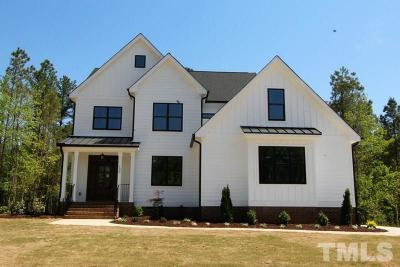 Youngsville Single Family Home For Sale: 130 Lockamy Lane