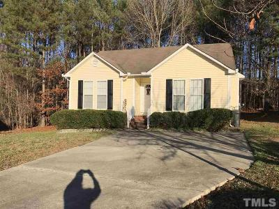 Knightdale Single Family Home For Sale: 1005 Henchman Court