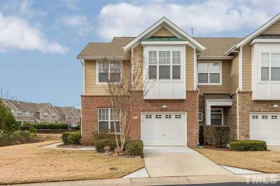 Raleigh Townhouse For Sale: 9101 Wooden Road