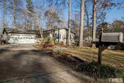 Cary NC Single Family Home For Sale: $229,000