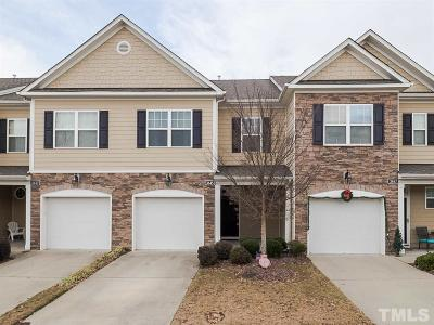 Wake Forest Townhouse For Sale: 3845 Wild Meadow Lane