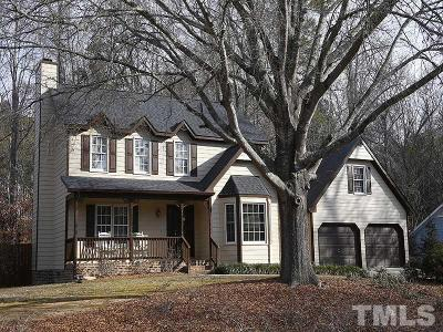 Raleigh Single Family Home Contingent: 2101 Virginia Dare Place