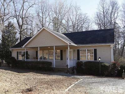 Durham County Single Family Home Pending: 3914 Bahama Road