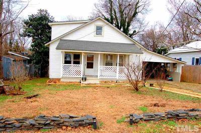 Hillsborough Single Family Home For Sale: 120 Jones Avenue