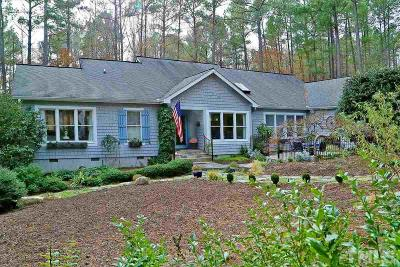 Pittsboro Single Family Home For Sale: 640 Spindlewood