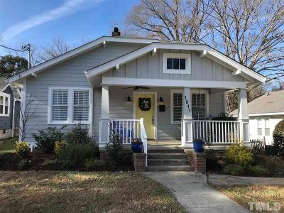 Durham Single Family Home For Sale: 1011 Rosehill Avenue