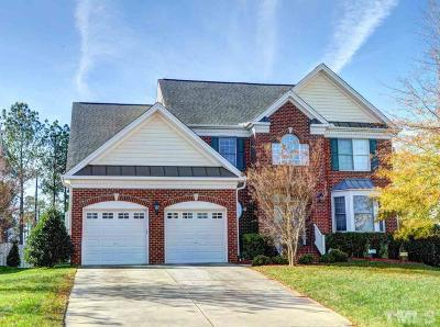 Raleigh Single Family Home For Sale: 11724 Dellcain Court