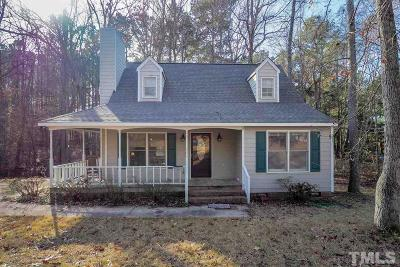 Raleigh Single Family Home Contingent: 2120 Virginia Dare Place