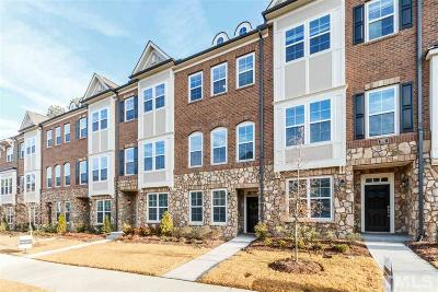 Raleigh Townhouse For Sale: 835 Bankston Woods Way #67