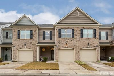 Raleigh Townhouse For Sale: 8332 Niayah Way