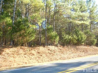 Chatham County Residential Lots & Land For Sale: Buckner Clark Road