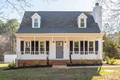 Apex Single Family Home For Sale: 9041 Holly Springs Road