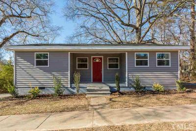 Cary Single Family Home For Sale: 206 Hunter Street