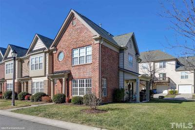 Raleigh Townhouse For Sale: 9812 Cicero Drive