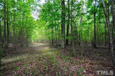 Chatham County Residential Lots & Land For Sale: 852 Alton Alston Road