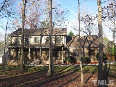 Raleigh Single Family Home For Sale: 2501 Ferguson Road