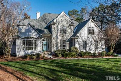 Raleigh Single Family Home Contingent: 4616 White Chapel Way