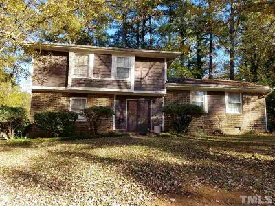 Raleigh Single Family Home For Sale: 5108 Hearth Drive