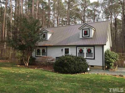 Pittsboro Single Family Home For Sale: 796 Old Graham Road