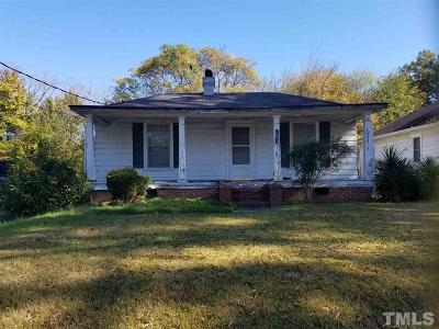 Durham Single Family Home Pending: 1914 Haverford Street