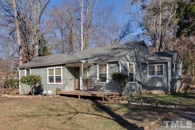 Chapel Hill Single Family Home For Sale: 144 Weaver Dairy Road
