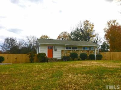 Raleigh Single Family Home For Sale: 2200 Millbank Street