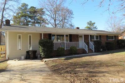 Durham Single Family Home For Sale: 4833 Stafford Drive