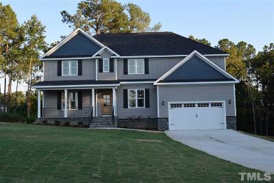 Angier Single Family Home For Sale: 325 Brookstone Way