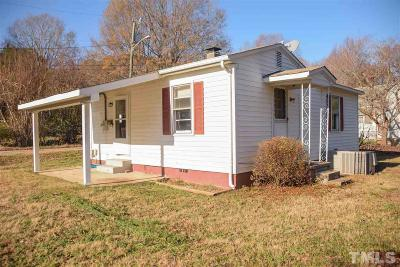 Wake Forest Single Family Home Pending: 106 W Chestnut Avenue