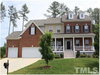Wake County Single Family Home For Sale: 708 Rushing Falls Place